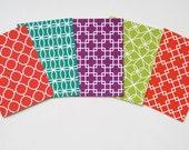 Jilly Jack Designs Mod Pattern Series Note Card Set