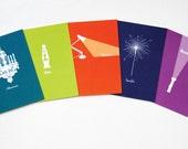 Jilly Jack Designs Light Series Note Card Set