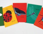 Jilly Jack Designs Bug Series Note Card Set