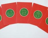 Jilly Jack Designs Animal Series Note Card Set