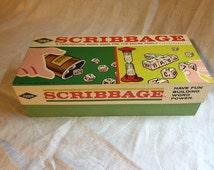 Vintage 1963 E.S. Lowe Co. Scribbage Game