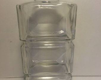 SALE! Tall Glass 3 Tier Bottle *FREE SHIPPING*  Decorative Bottle