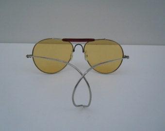 Vintage Aviator Sunglasses Faux RB