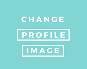Change your profile image