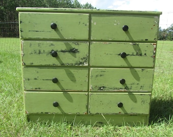 Shabby chic chest of drawers,vintage dresser, vintage cabinet, shabby chic cabinet, furniture, chest of drawers, whimsical  furniture