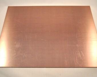 copper plate (9 x 12 cm)