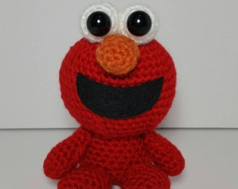 Crochet Amigurumi Elmo