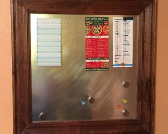 Custom Framed Magnet Board