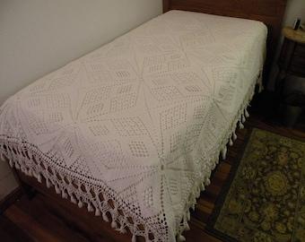 Hand Crocheted Bedspread