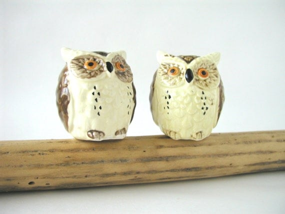 Christmas Owls Salt And Pepper Shakers Christmas Wikii