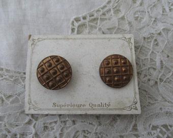 Antique cufflinks 1910