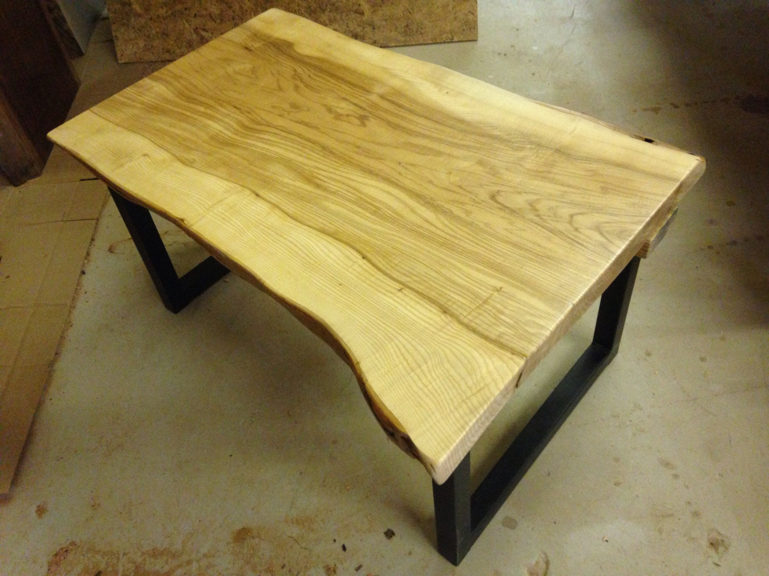 Live edge coffee table live edge wood coffee by urbanwoodllc Live wood coffee table