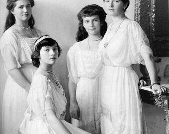 Anastasia,Romanov Sisters- Russian Empire- Romanovs-Photo Print