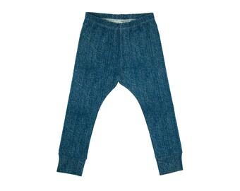 Baby Leggings, Toddler Leggings, Girls Leggings, Boys Leggings, Baby Harem Pants, Toddler Harem Pants, Yoga Pants, Jeggings, Denim Look