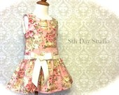 Girls Easter Dress, Toddler Easter Dress, Tea Party, Church, Special Occasion, Wedding, Sizes 2T - 6 by 8th Day Studio