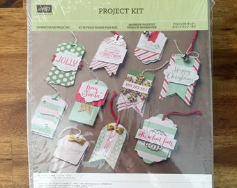 Stampin' UP! Oh What Fun Tag Project Kit - FREE SHIPPING!