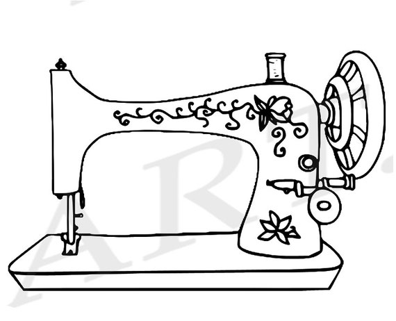 50% OFF Sewing Machine Clipart Sewing Machine Clip art