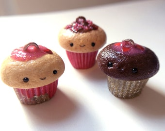 Limited Edition Valentine's Cupcake Charms