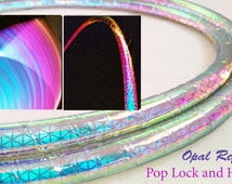 NEW! Opal High Intensity Color Shifting Reflective Performance Polypro Hula Hoop 3/4 or 5/8 This is not an LED Hula Hoop