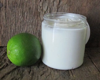 Organic Key Lime Pie Whipped Body Butter 8 oz.
