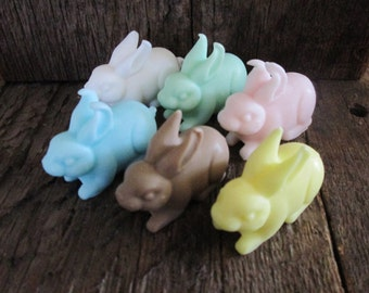 Tiny Shea Butter Organic Bunny Soap Favor 1 oz.