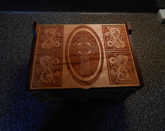 Medium Size Celtic Cross Box
