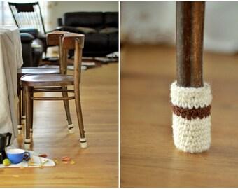 Chair socks, Floor protector, chair leg socks, table socks, cozy legwarmer, home decor, Eco-friendly gift