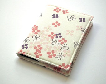 A6 Notebook Cover, A6 Journal Cover, Diary Cover A6, Fabric Book Cover, Removable Book Cover, Fabric Slip-Cover, Japanese Cotton, UK Seller