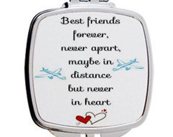 Best Friends Mirror Compact/ Pocket Mirror