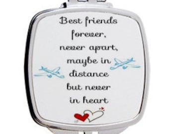Best Friends Mirror Compact/ Pocket Mirror