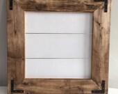 FLASH SALE! Medium framed shiplap