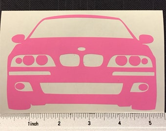 BMW e39 m5 Vinyl Decal Sticker 5 series Stance FREE SHIPPING