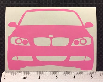 BMW e90 335i Vinyl Decal Sticker 3 series Stance FREE SHIPPING