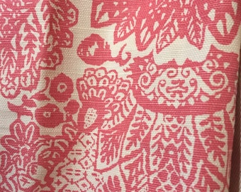 Lace in Pink- listing is for one pillow