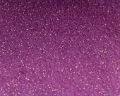 Purple Glitter Felt Fabric Sheet Craft Felt