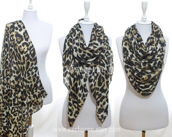 Leopard Printed Scarf Winter Accessories Women Accessories Fall Fashion Shawl Women Winter Fashion Christmas Gift Ideas For Her For Mom
