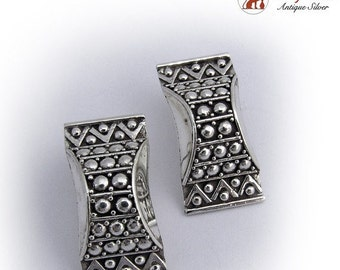 SaLe! sALe! Vintage Hand Made Earrings Sterling Silver 925
