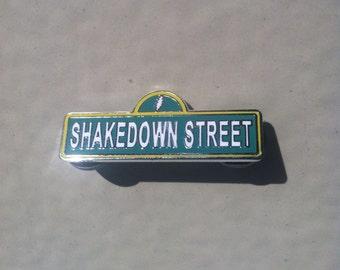Shakedown Street Grateful Dead Sign