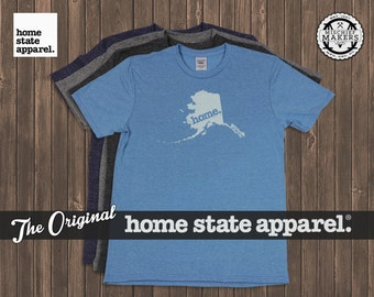 Alaska Home. shirt- Men's/Unisex