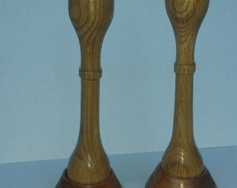 Oak 1R candle sticks