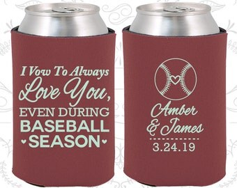 Marsala Wedding, Can Coolers, Marsala Wedding Favors, Marsala Wedding Gift, Marsala Party Favors (303)