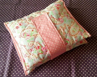 Pretty Quilted Nappy & Wipes Wrap