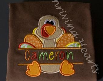 Personalized Turkey shirt