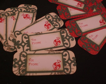 Simple style gift tag set of 12