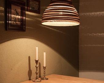 Cardboard lampshade, n10, type b
