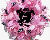 Breast Cancer Wreath, Pin...