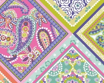 Blend Fabrics - Handkerchief Multi - Paisleigh Collection - 101.108.07.1