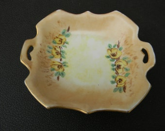 Wonderful Prov Sace ES Germany Numbered IVM Vintage Porcelain Floral Dish