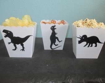 Dinosaur Decorations,Party containers(3)Dinosaur banner,Dinosaur birthday party,Dinosaur theme party,Dinosaur baby shower,Kids Dino Party