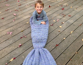 Mermaid Tail Blanket; Mermaid Tail, Mermaid Blanket